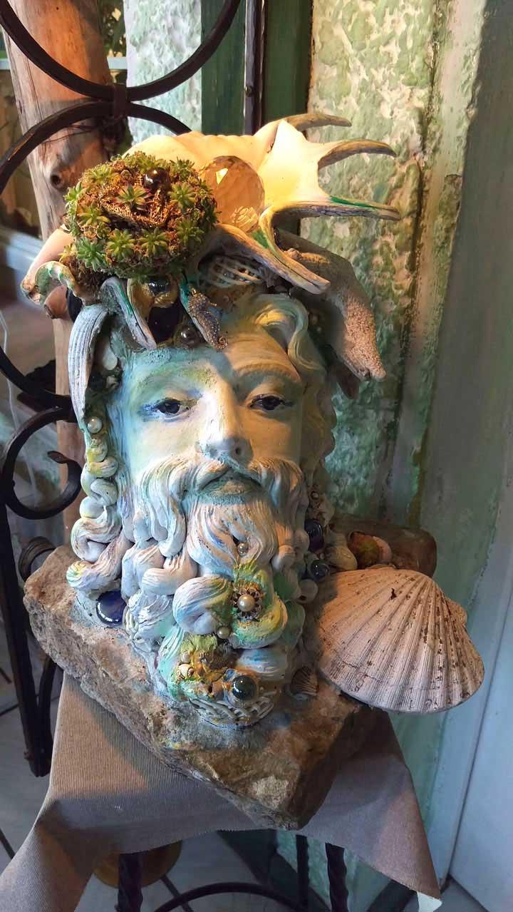 "Skulptur ""Neptun"" (Uriel Design)"